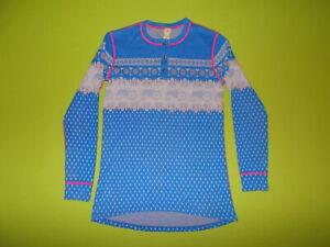 Shirt MOODS OF NORWAY (L) MERINO WOOL PERFECT !!! Base Layer SKI RUNNING TRACTOR