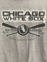 🌴CSA Chicago White Sox MLB Men's L Large Gray Short Sleeve T-Shirt🌴