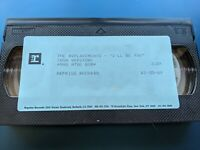 """THE REPLACEMENTS """"I'll BE YOU"""" VIDEO RADIO/PRESS VHS"""