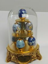 Sapphire Garden House Of Faberge Limited Edition Eggs Euc