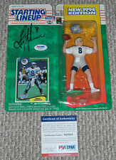 TROY AIKMAN Signed 1994 Starting Lineup Action FIGURE Dallas COWBOYS PSA/DNA COA