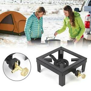 Outdoor Portable Cast Iron Gas Stove Safety Camping Picnic Gas Burner LPG Burner