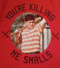 THE SANDLOT MOVIE  -  YOURE KILLING ME SMALLS red T-SHIRT Medium