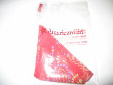 American Girl Julie Calico Dress Set New Replacement Bandana Only Nip