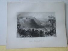 Vintage Print,CASTLE HOWARD,Scenery of Ireland,Bartlett