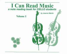 I Can Read Music, Vol 1 : A note reading book for CELLO Students Vol. 1 by...