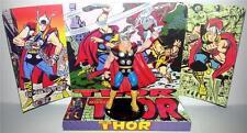 MIGHTY THOR Comic Book Superhero Action Figure on Custom Design Display Diorama