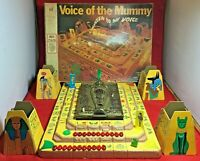 1971 Voice of the Mummy Board Game Milton Bradley Not Working Missing Pieces