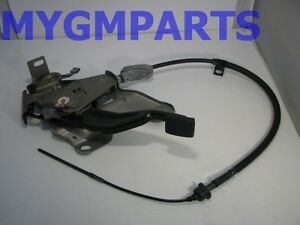 COLORADO CANYON PARKING BRAKE PEDAL ASSEMBLY 2004-2012 NEW OEM GM 20832044