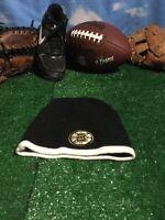 Boston Bruins beanie winter worn black white  Hat Cap H22