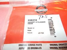 New Briggs & Stratton Cylinder Head Gasket 698210 12D & 121000 Ohv Eng.