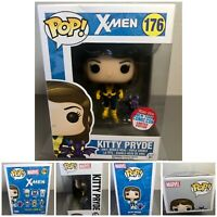 New Funko Pop! #176 X-Men Kitty Pryde With Dragon 2016 New York Comic Con Exc