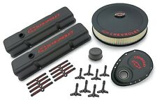 Proform SB Chevy Black Crinkle  Engine Dress Up Kit 141-758