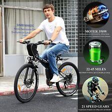 E-Bike Klapprad Mountainbike,26''Elektrofahrrad Fahrrad 350W Motor E-Citybike@DE