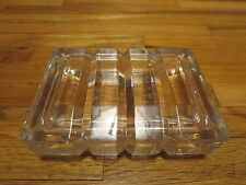 Vintage Art Deco Mid-Century Crystal  Cigarette/ Candy or Jewelry  Box