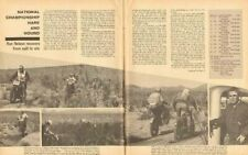 1966 Hare & Hound / Ron Nelson - 3-Page Vintage Motorcycle Article