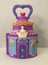 My Little Pony Hasbro 2014 Play & Carry Castle w/ Handle Purple Changes Rooms