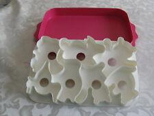 Tupperware Animal Wigglers Set Jello Jigglers Gelatin Mold Cookie Cutter Tray
