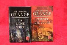 Jean-Christophe Grange - Lot de 2 - Livre - Occasion