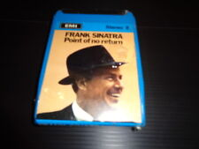 """Point of no Return"" Frank Sinatra Cassetta Stereo 8 Emi/Capitol"