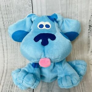 RARE Blues Clues Child Hand Puppet Plush Stuffed Puppy 2001 Fisher Price CUTE
