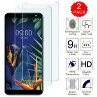 For LG Solo LTE L423DL - Clear HD Tempered Glass Film Screen Protector [2-Pack]