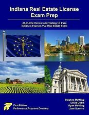 Indiana Real Estate License Exam Prep: All-In-One Review and Testing to Pass Ind