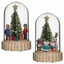Light Up Christmas Dome-Animals/Children Home/Fireplace Seasonal Decoration Xmas