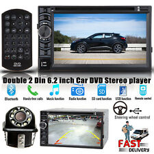 """6.2"""" 2DIN Car DVD Player TouchScreen Stereo Radio+Camera for Toyota C-HR Corolla"""
