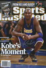 Kobe Bryant Sports Illustrated Autograph Replica Poster LA LAkers