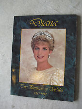 1997 Book Diana The Princess of Wales