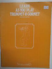 Aprender en cuanto juegues Trompeta & Corneta Peter wastall