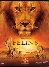 Album....Panini...FELINS   Disney nature
