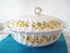 Vintage MYOTT England CHANTILLY Ironstone COVERED VEGETABLE Soup Tureen