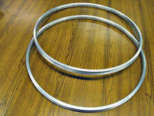 PAIR 26 x 1 3/8 ALLOY RIMS,VINTAGE ROADSTER,CLASSIC TOURIST BIKE,RALEIGH CAPRICE