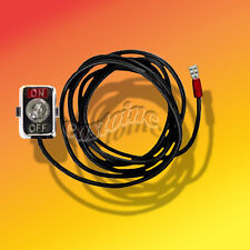 "Deluxe Toggle Kill Switch with 48"" Lead Wire,fits Minibike Gocart, ATV.Engines"