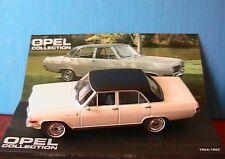 OPEL DIPLOMAT V8 LIMOUSINE 1964 1967 IXO 1/43 ALTAYA BERLINE WHITE WEISS BIANCA
