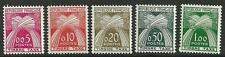 FRANCE SGD1474/8 1960 POSTAGE DUES MNH