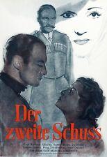 Original ~ Vera Korène ~ Film Plakat UfA 1939/40 Poster ~ Der zweite Schuss ~