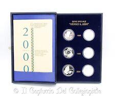 1998 Verso il 2000 Dittici Lire PROOF Argento RARA Serie speciale Cofanetto IPZS