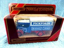 MATCHBOX MODELS OF YESTERYEAR Y27 1922 FODEN  STEAM  LORRY [PICKFORDS]