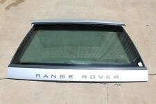 OEM Land Range Rover P38 95-02 Rear Upper Liftgate Tailgate Hatch w/Glass Silver