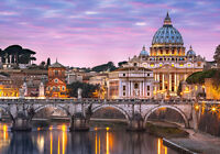 500 TEILE PUZZLE, VIEW OF THE VATICAN, CASTORLAND 52493