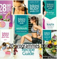 KAYLA ITSINES BBG Bikini Body Guide 1 + 2, Recettes H.E.L.P + Bonus Emily Skye
