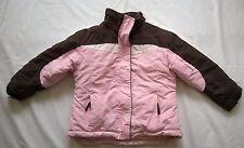 Kinderbutt Skijacke Jacke Gr.104 Schneeanzug Mädchen rosa braun