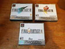 Final Fantasy 7 8 9 Vii VIII IX Games Bundle PS1 Sony Playstation Near Mint