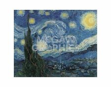 "vAN GOGH VINCENT - THE STARRY NIGHT - ART PRINT POSTER 11"" X 14"" (168)"