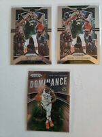 Giannis Antetokounmpo 38 Card Lot - Prizm/Optic/Donruss/Hoops/Contenders/Threads