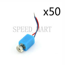 50 x Pager Cell Phone Mobile Cylinder Vibrating Micro Motor 2.5V-4.0V Wholesale
