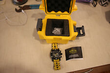 Invicta 23757 Sea Spider dive watch with yellow band and waterproof box excellen